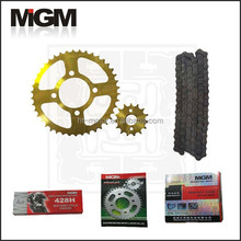 Factory Motorcycle chain sprocket manufacture,pinion 125