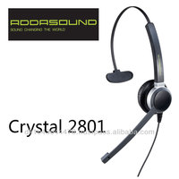 Crystal 2801 Noise-cancelling Headsets Designed for call centers
