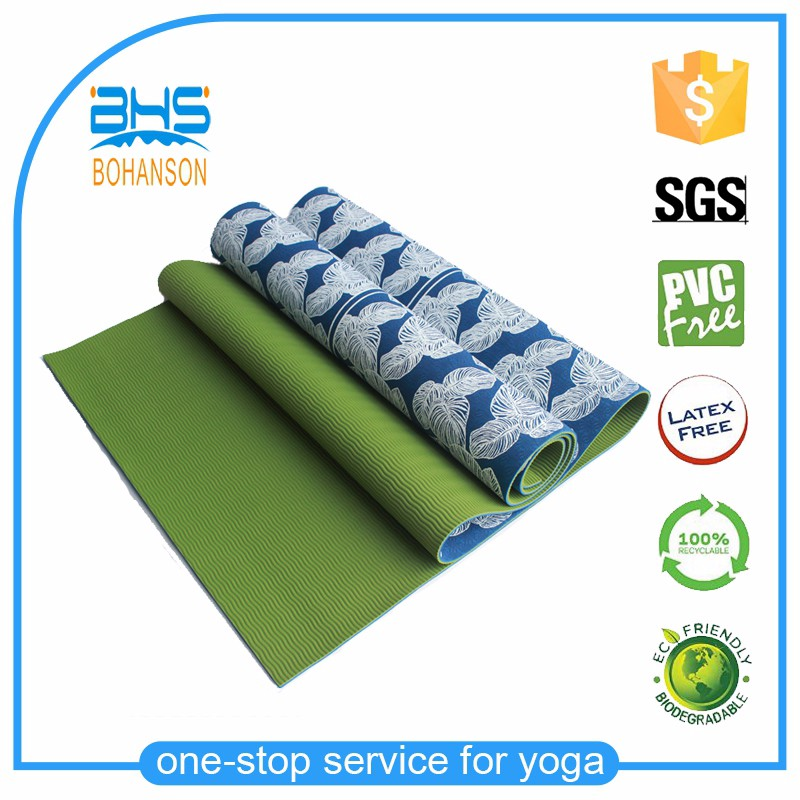 Durable eco round yoga mat strap , washable yoga mat material