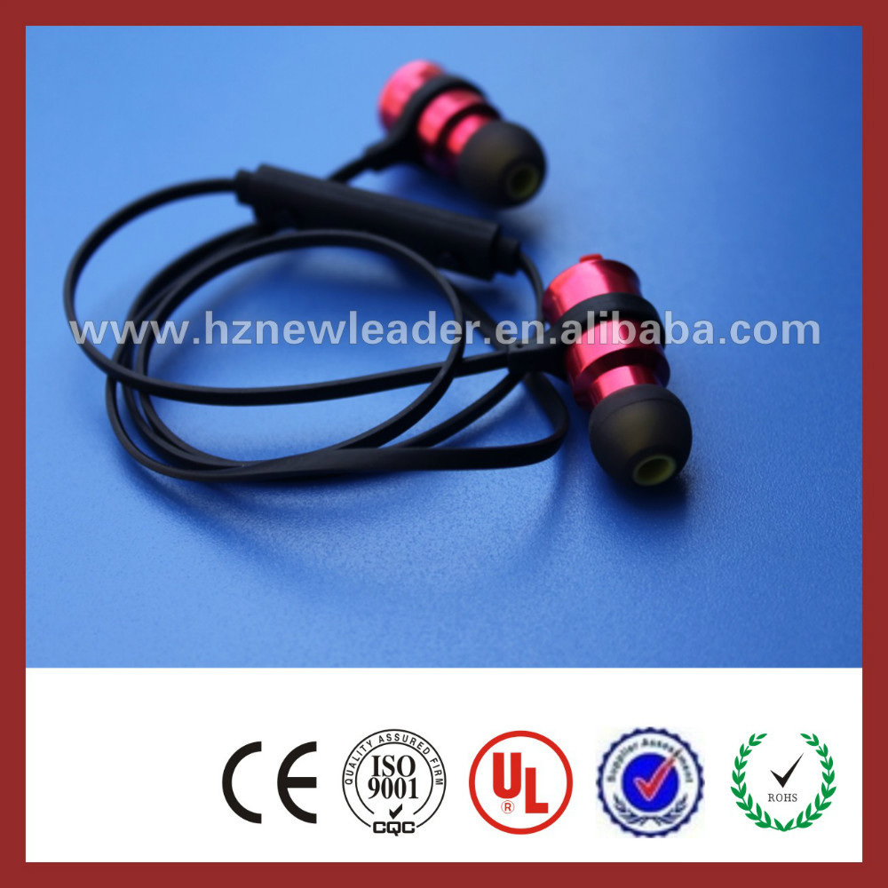 CE/Rohs certified High End colorful wireless two way radio earphone bluetooth headset for sports