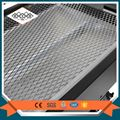 Stainless steel expanded metal mesh panels