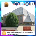 Classical Ultraviolet thermal insulation stone coated roof tiles/Professional roofing manufacturers/install tile roof panel