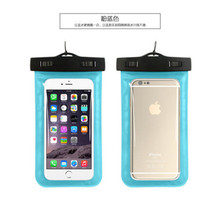Universal Inflatable Mobile Phone IP68 Underwater WaterProof Pouch Smartphone Bag for Samsung For iPhone