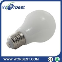 UL Listed A19 5W LED Globe Bulb E26 E27 110VAC 360 View Angle