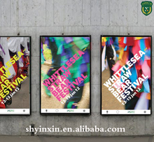 Shanghai YinXin good price custom design advertising window poster