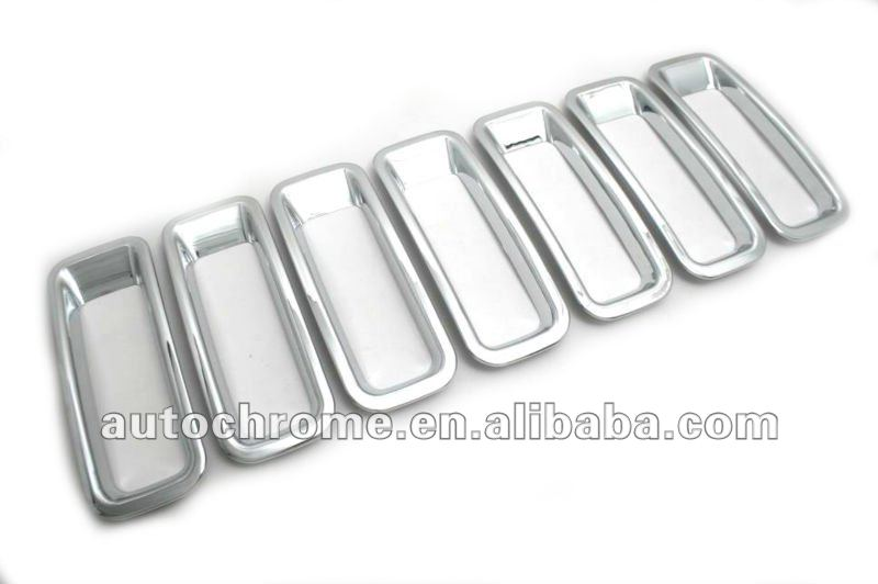 Chrome Grille Insert Trim - Jeep Patriot 11-13