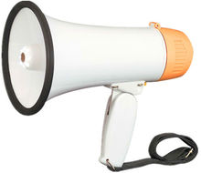 HY801L Pretend Play Kids Police Officer's Megaphone With Siren