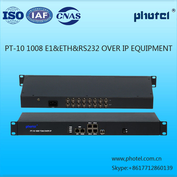 TDM OVER IP 4/8 E1(SUPPORT PDV)