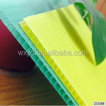 Hot sale pp corrugated Plastic Correx Sheet with ISO,SGS certificate