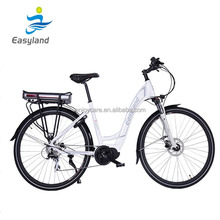 2017 new stysle popular 700C wheel electric city bike