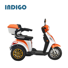 Blue bike 48v 500w three wheel electric mobility scooter
