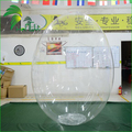 Factory Directly Sell Inflatable Clear PVC Egg Balloon / Charming Elliptical Egg Shape Sky Helium Balloon