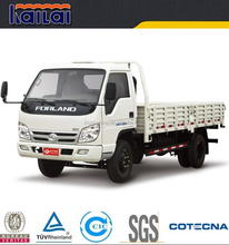 China Foton forland 1ton 2ton 3ton light lorry truck cargo truck for sale