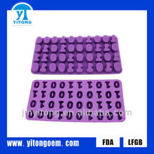 hot sale promotion digit shaped molds