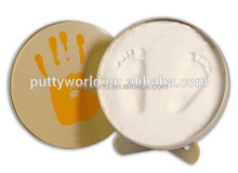 Permanent collection products baby handprint clay keepsake in memory tin