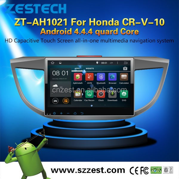 NEW Android 4.4.4 up to 5.1 car dvd navigation system for Honda CRV 2013 2015 MCU 1.6G 4 core 3g wifi