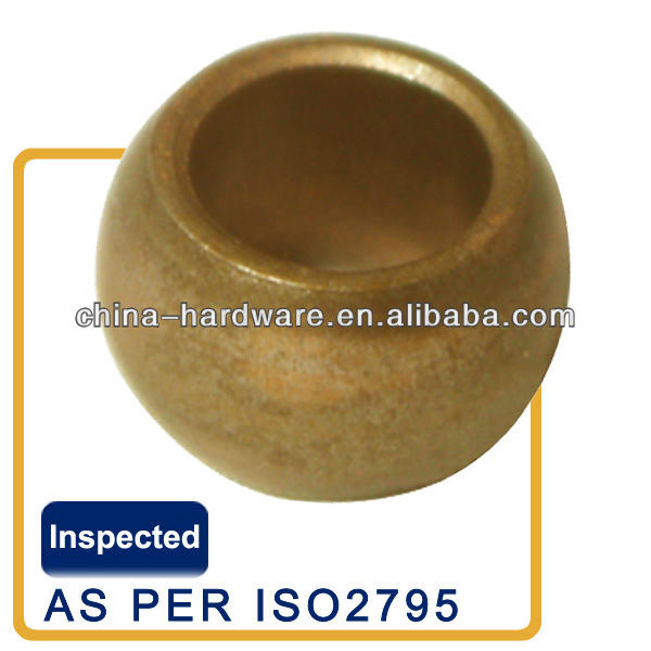 spherical bronze bush bearing for power tools,impact drill,sintered bronze bushing for electric drill