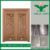Cheap Steel Door Skin / Exterior Steel Door