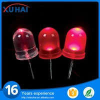 High brightness Through Hole 8mm led diode prices
