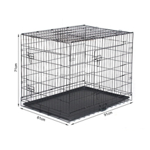 GMT60119 Ebay Amzon Hot Sale Foldable Dog Wire Iron Pet Cages Carriers Houses