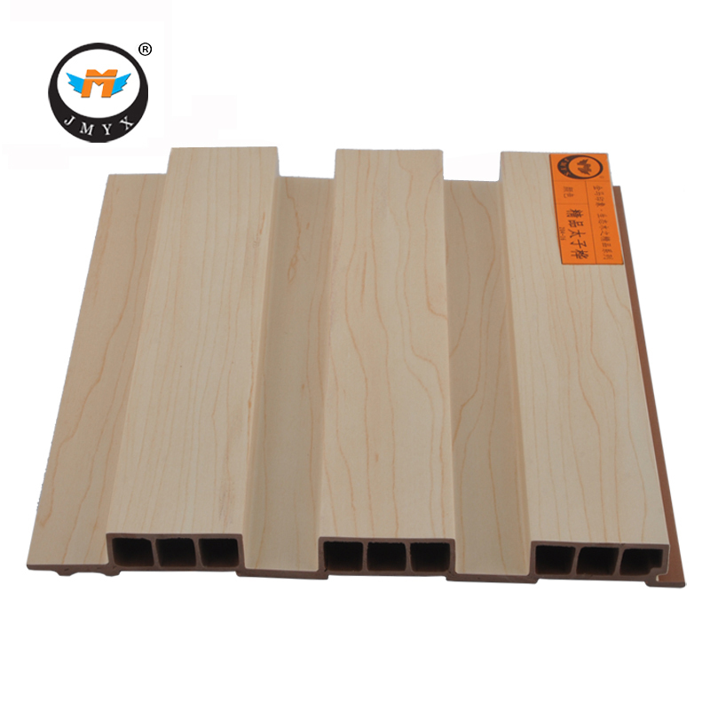 Non - Formaldehyde Wood Plastic Composite WPC Heat Resistant Wood Grain Wall Panel