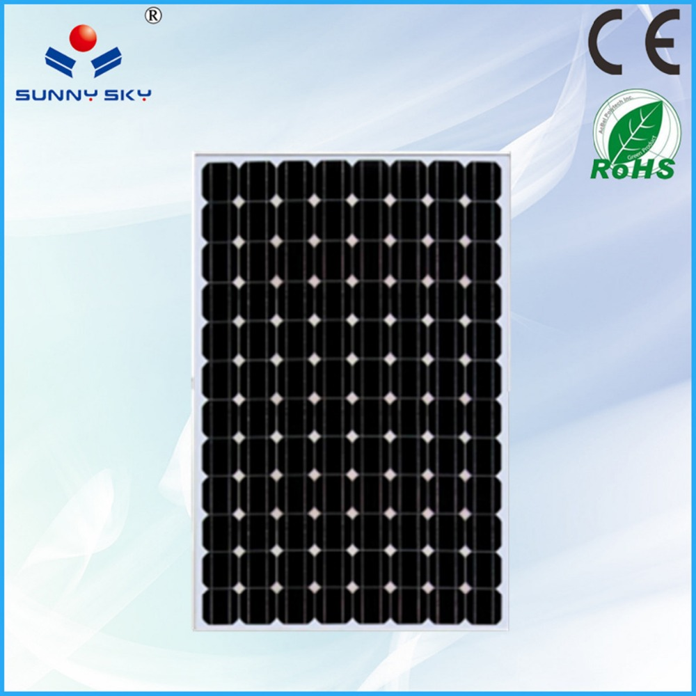 sunnysky Best quality high efficient folding solar panel 100w for RV , home use TYM280