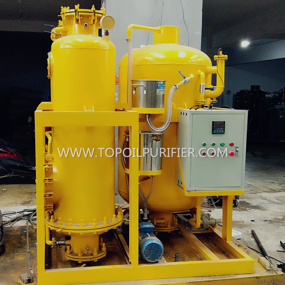 Green Technology Gear Oil Bleaching Machinery/Coconut Oil Polish Machine