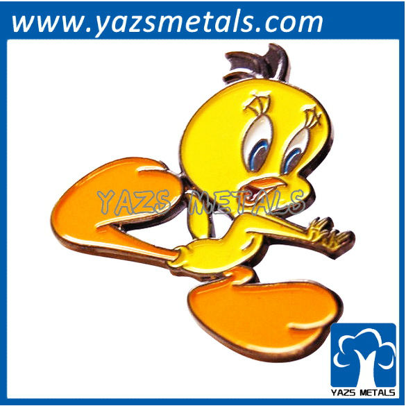 custom high quality Looney Tunes Tweety Pie pin badge