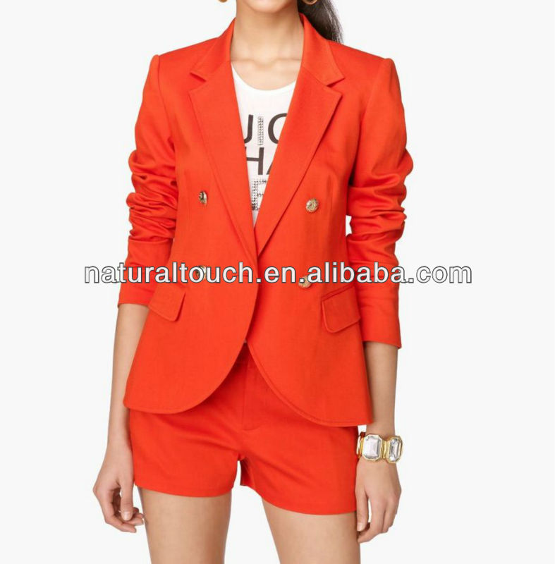2013 Newarrival Long sleeve women Jacket - Dongguan clothing factory ( YC30005 )