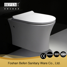 European style modern cheap ceramic wall hung toilet price