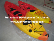 Hot sale funny plastic kayak fishing boat for sale