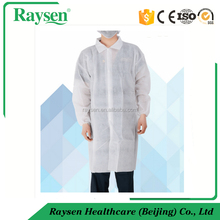 Disposable medical lab coat