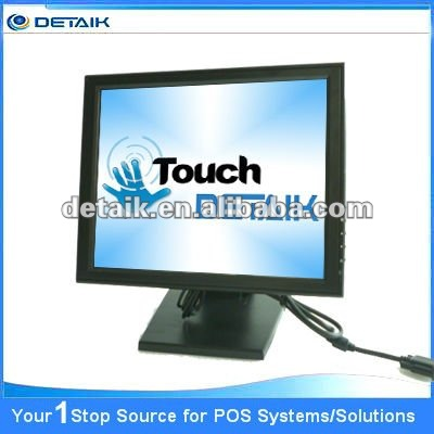 "Brand new 17"" POS Touch screen Monitor * touch screen panel kit * capacitive touch screen"
