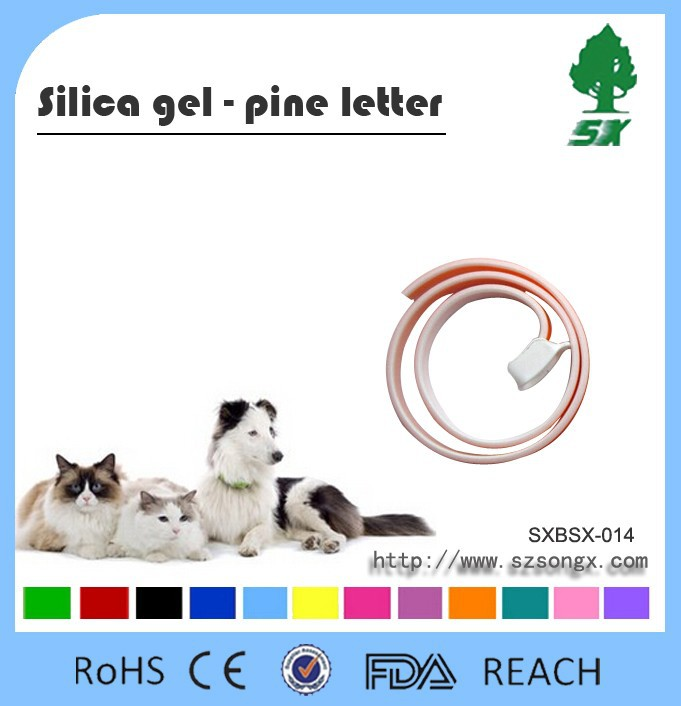 Anti Fleas Ticks Mosquito Safety Protection Silicone Cat&Dog Collar Pet Collar