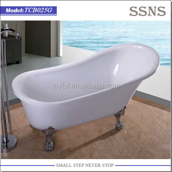 Cast Iron Custom Size Small Bathtub with Legs (TCB025G)