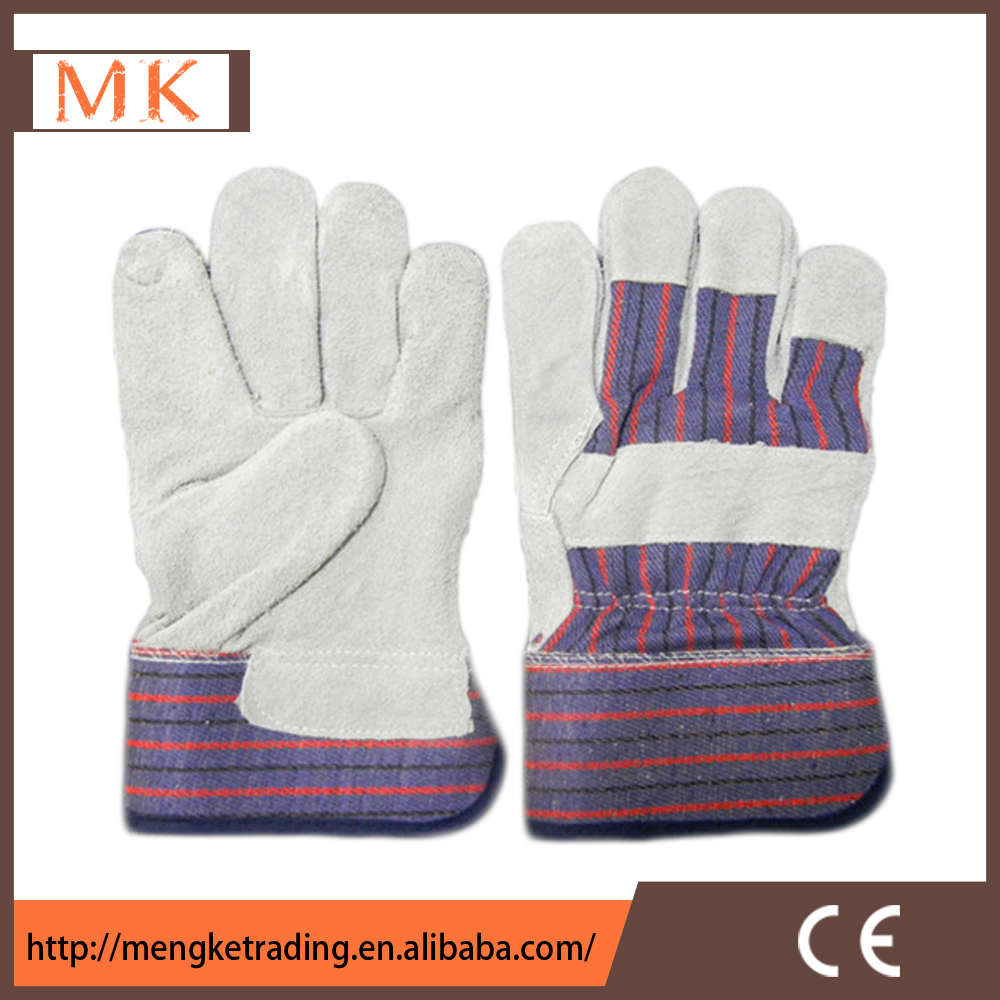 Leather work gloves with wool lining - Cow Split Leather Welding Protective Ce En388 Safety Gloves Full Lining Machinist Working Gloves Cow Split Leather Welding Protective Ce En388 Safety