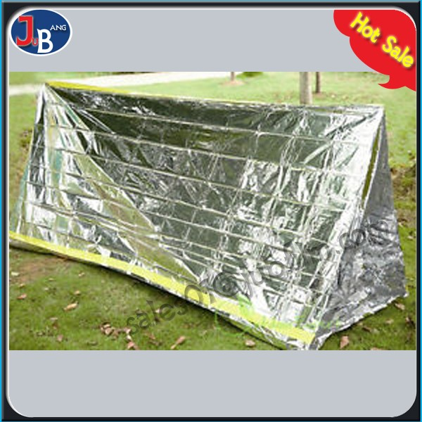 8' x 10' silver survival 2 Person Mylar Thermal Shelter