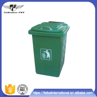 Made in china new style no rupture under the sun fiberglass dustbin