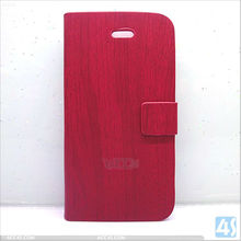 Handcrafted Big Ebony Assists Natural Wood Holster Skin for Iphone4 Wood Cover Case P-iPHN4SCASE029