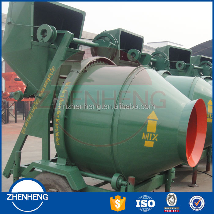Hopper Rotaional Drum Diesel Cement Mixer 250L From Leading Supplier