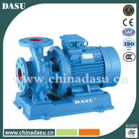 ISW / IRW horizontal piping centrifugal pump/ water pump/pipe mounted pump