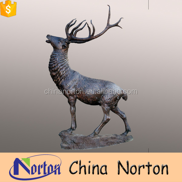 garden animal decoration life size bronze deer statue NT-BSD039