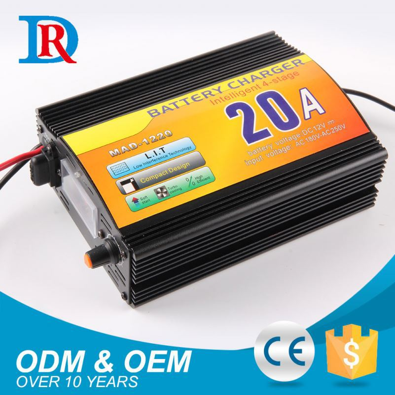 Quality Guaranteed 20A 12V Automatic Lead Acid Battery Charger