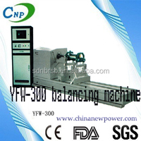 YFW-300/1000/1600 these series of balancing machine are designed for fans,blowers industries produce large-diameter workpieces