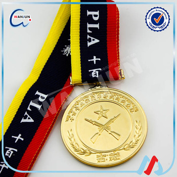 embossed gold medals for kids sports souvenirs medal