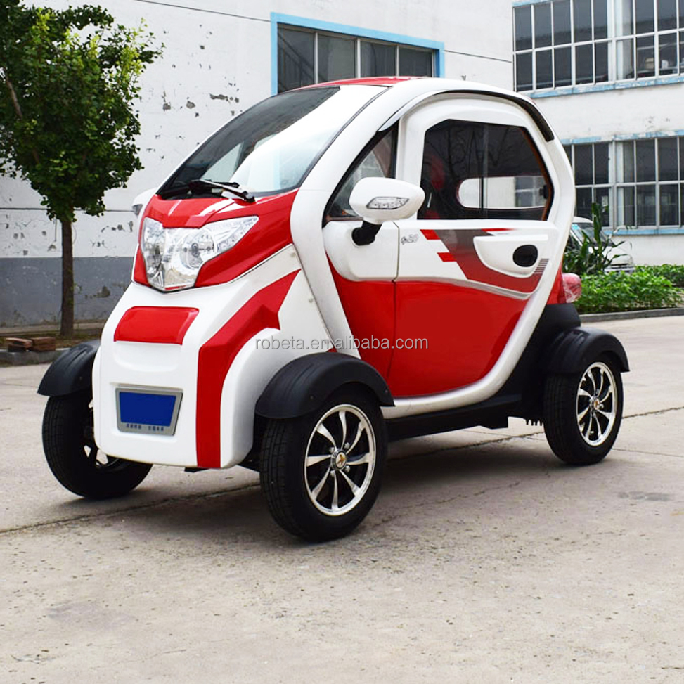 3 Seats 4 Wheels Beautiful Cheap Electric Car for Adults
