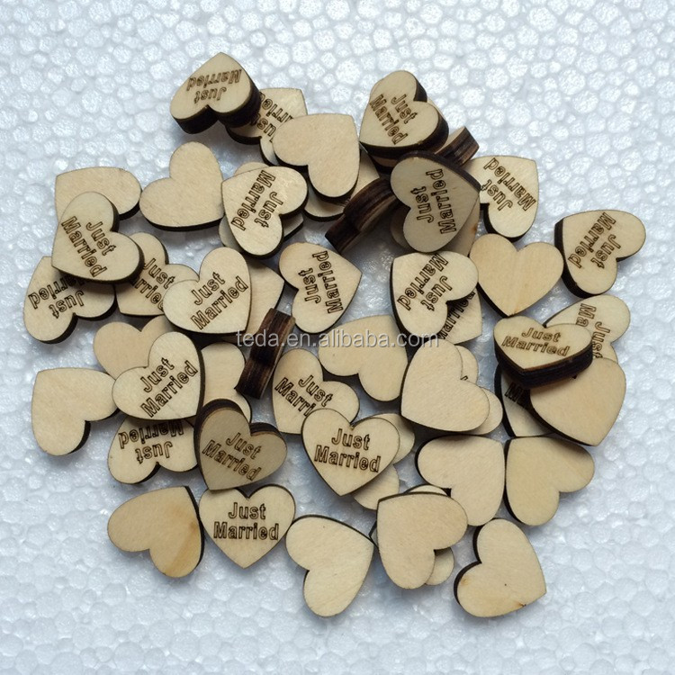 Family Tree accessories Wood Hearts