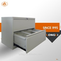 Office Steel Two Drawer Hanging File Cabinet