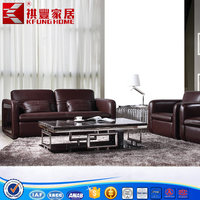 Modern contracted crocodile leather sofa combination