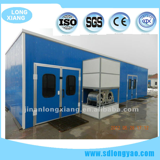 low price mobile furniture spray booth used furniture spray booth LY-120